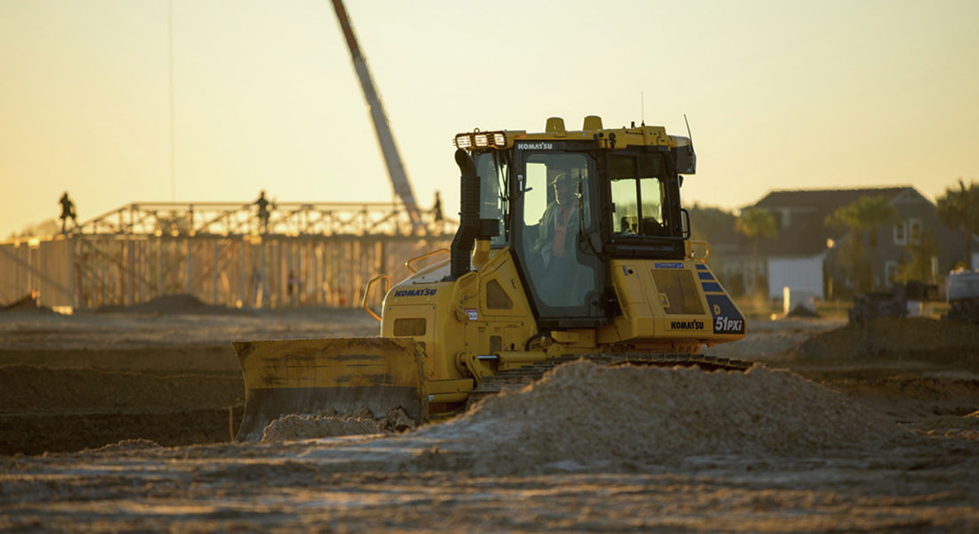 Komatsu's Intelligent Machine Control 2.0 Available On D51i-24 And D61i-24