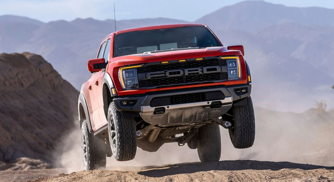 Ford Unleashes Most Off-Road Capable And Connected F-150 Raptor Ever