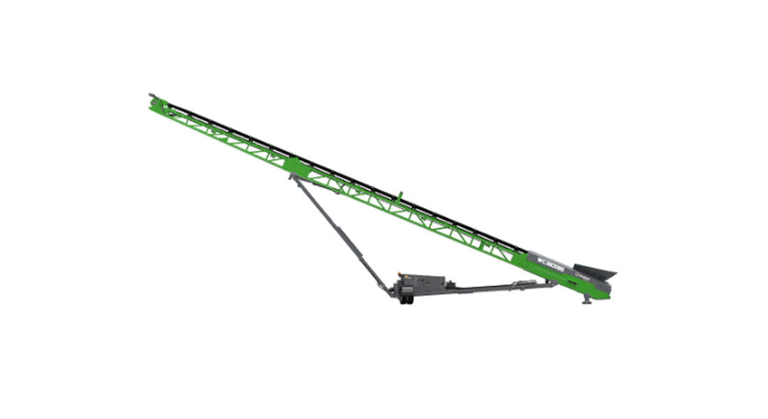 EvoQuip Adds The WC80 Radial Conveyor To Their Expanding Portfolio