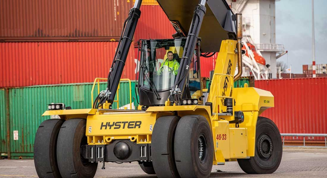 New Cab And Engine For Largest Hyster Big Trucks