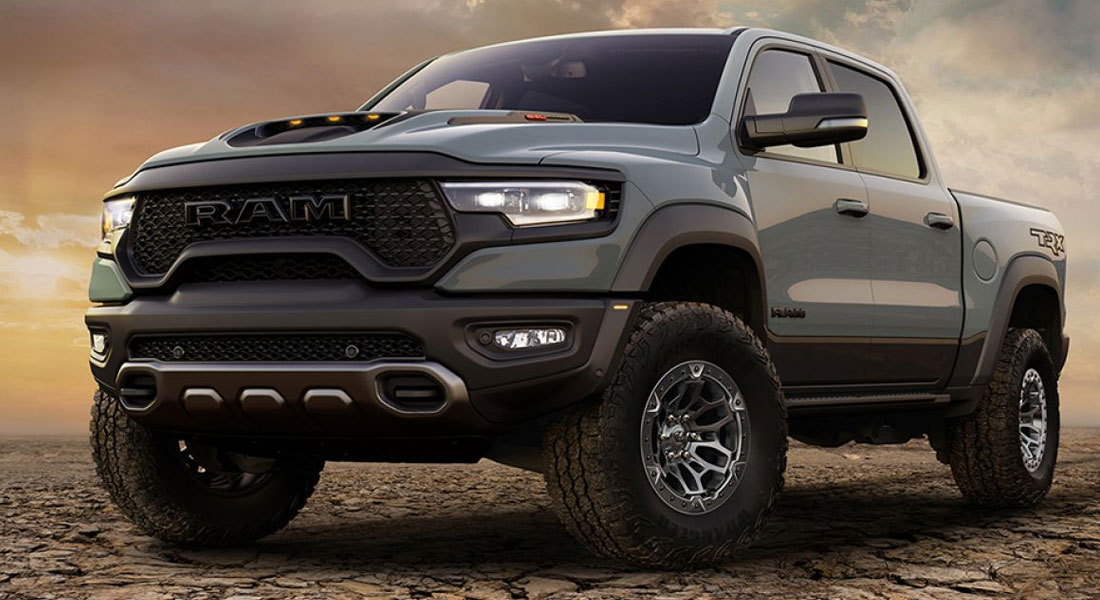 First Ever RAM TRX Pickup To Roll Off Production Line Set For Charity Auction