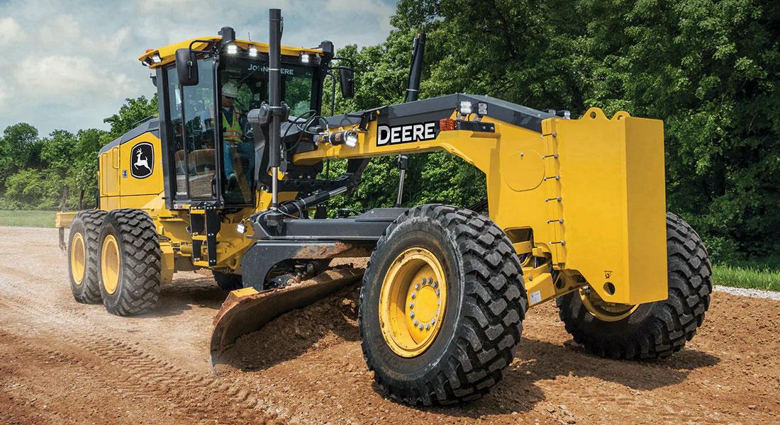 John Deere Enhances GP-Series Motor Graders