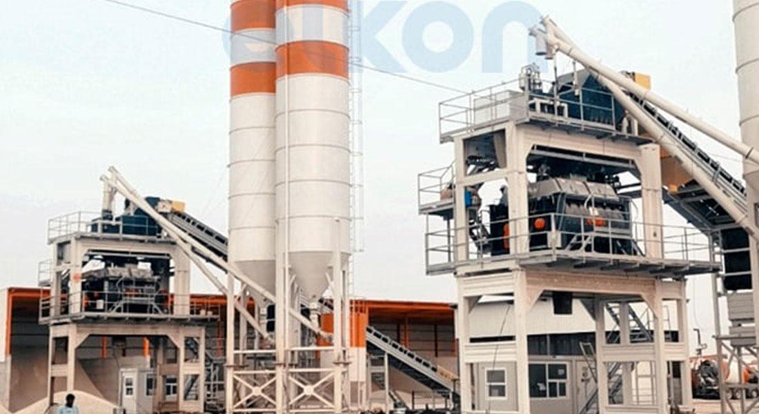 Elkon Supplies Two Concrete Plants To Saudi Arabia