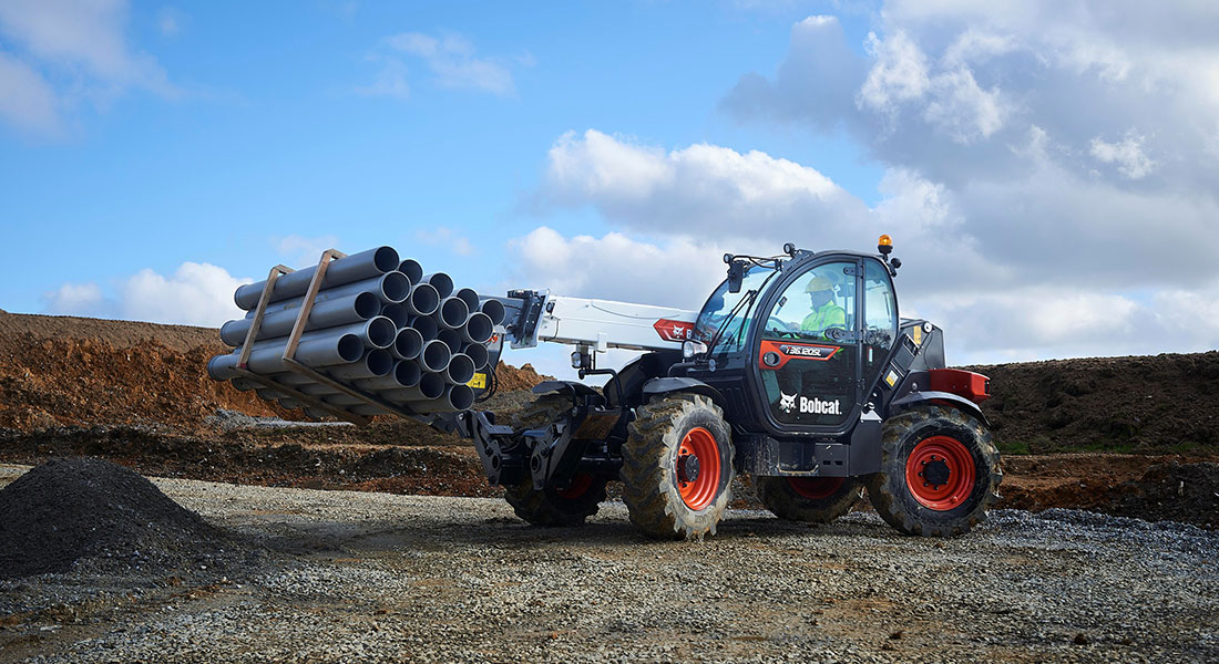 Bobcat Launches New Generation R-Series Range Of Telehandlers For The Middle East And Africa