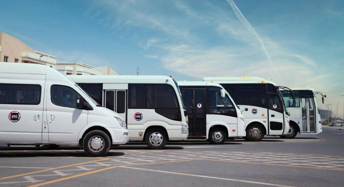 Dubai Taxi Launches Commercial Buses Service