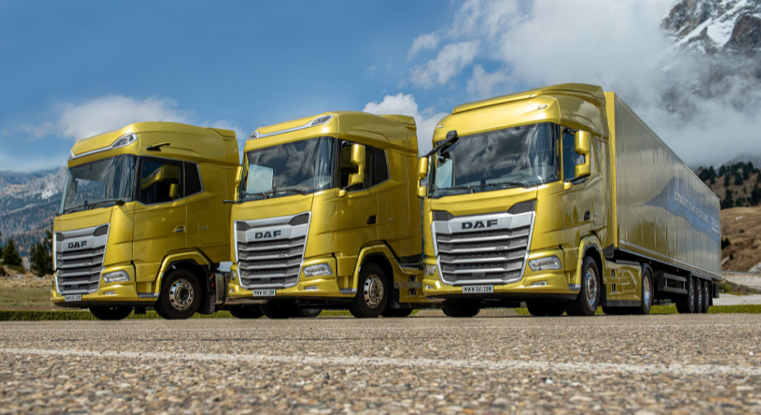 DAF Is Starting The Future With An Entirely New Line Up Of Trucks