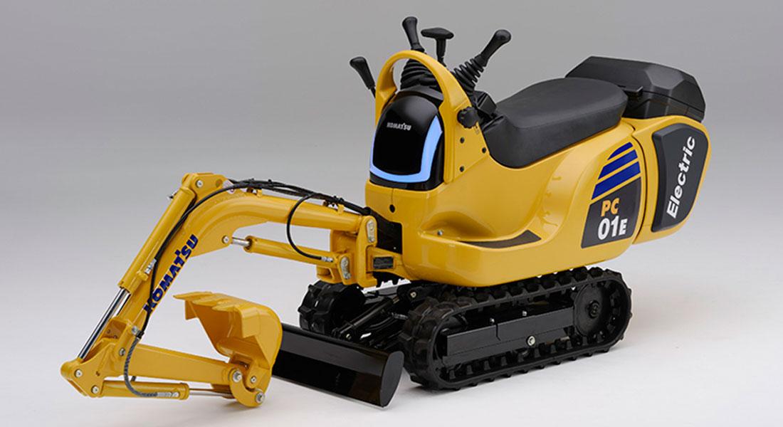 Honda And Komatsu Begin Joint Development Of Micro Excavators