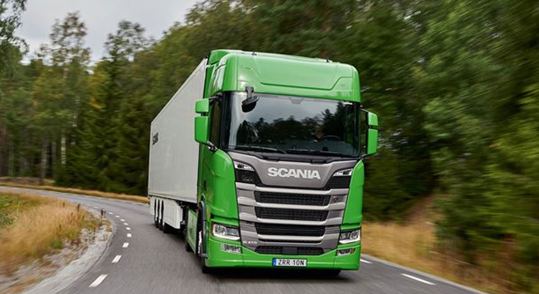 Scania Scores Its Fifth Consecutive 'Green Truck' Victory