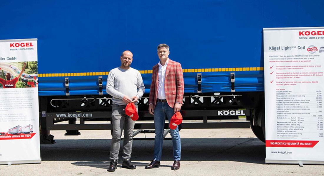 Blue River Bucuresti Opts For 30 New Kögel Lightplus Trailers