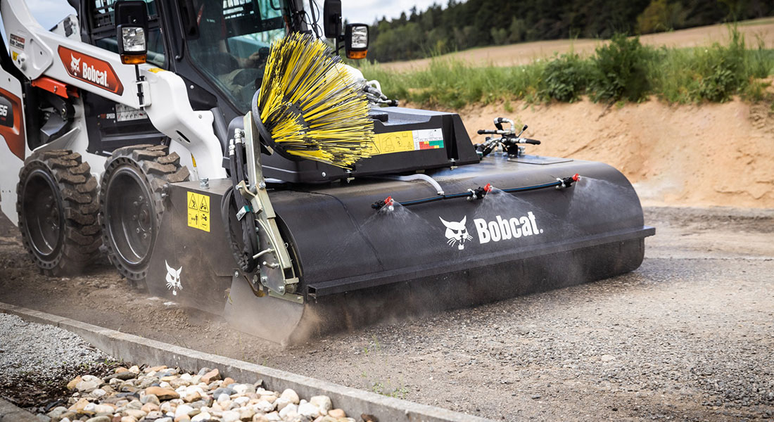 Bobcat Launches New Range Of Sweeper Attachments