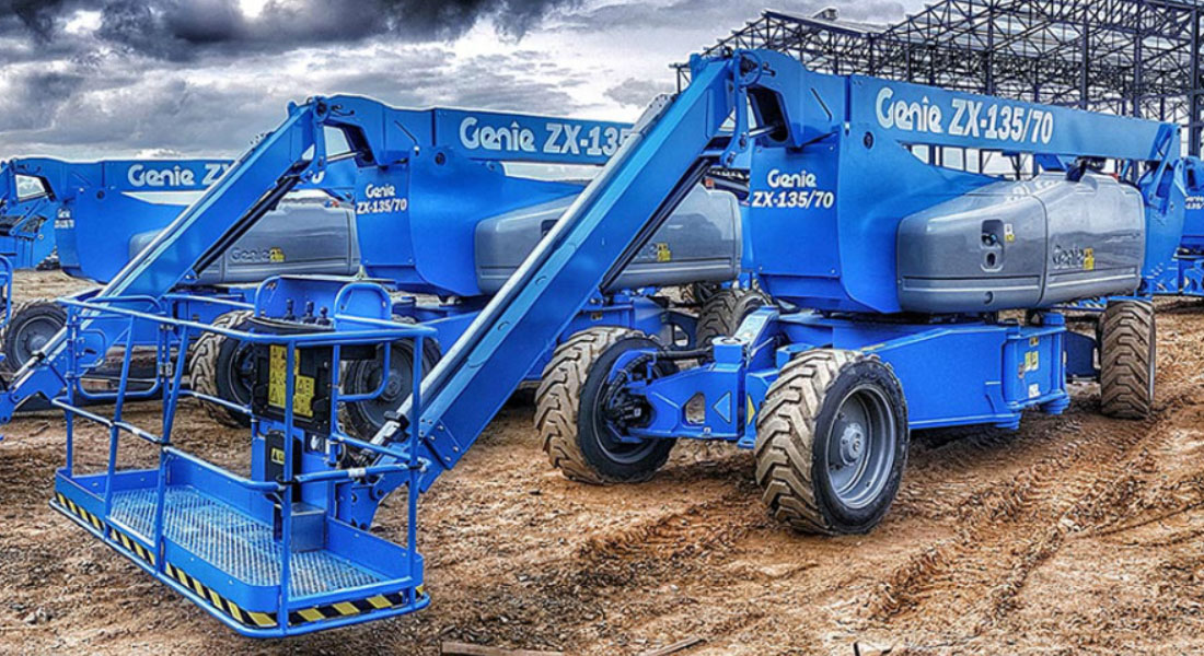Genie Announces The Order Of 10 ZX-135/70 Boom Lifts By Dayim Equipment Rental In Saudi Arabia