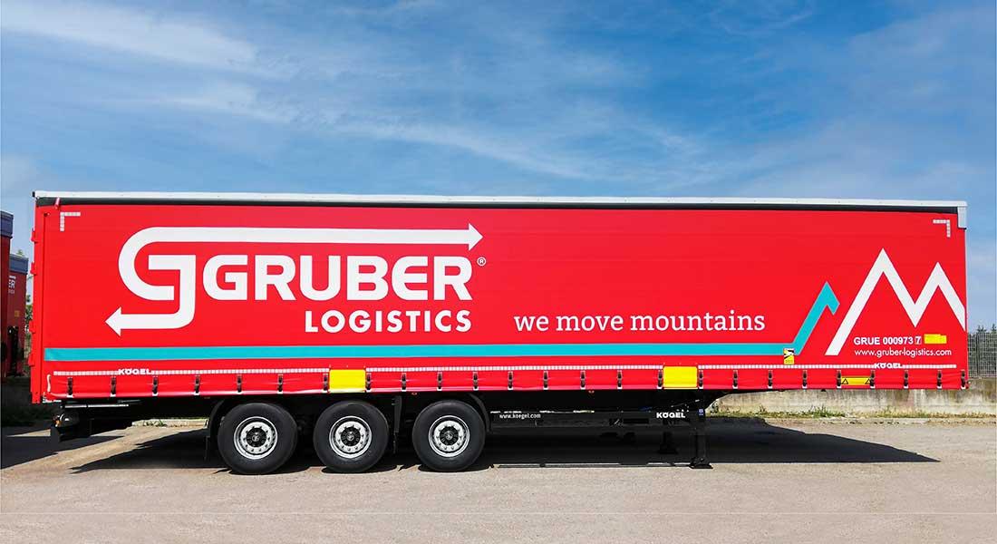 80 Kögel Trailers Delivered To Gruber Logistics