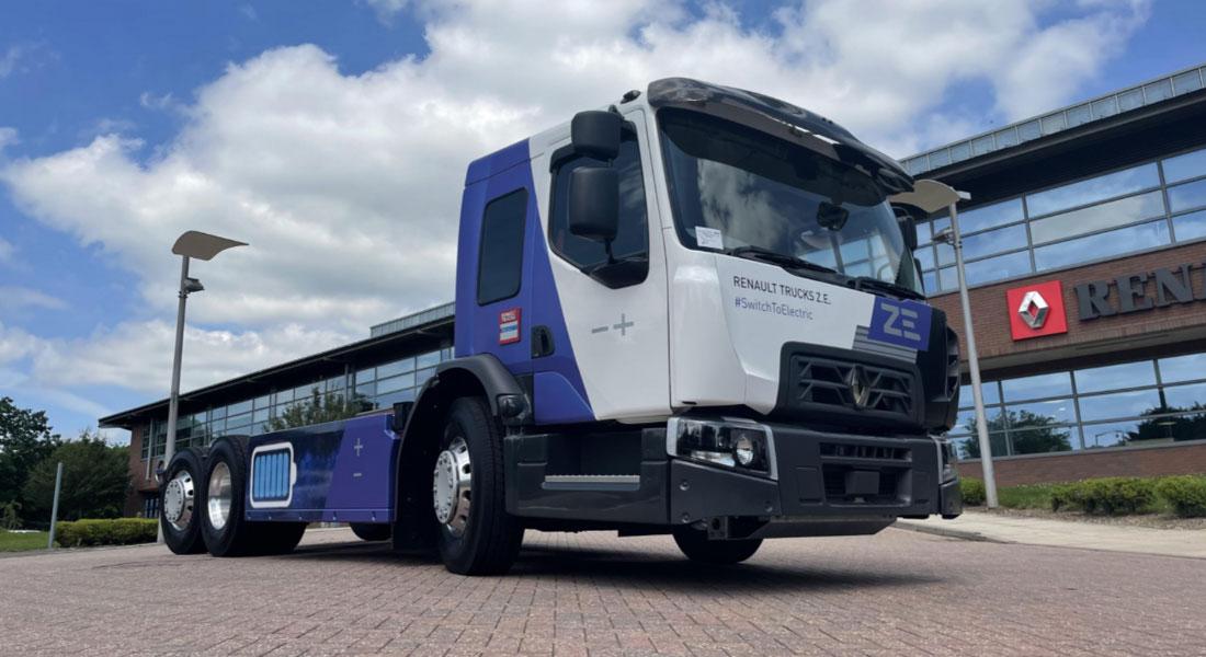 Renault Trucks Unveils Its New Urban Truck