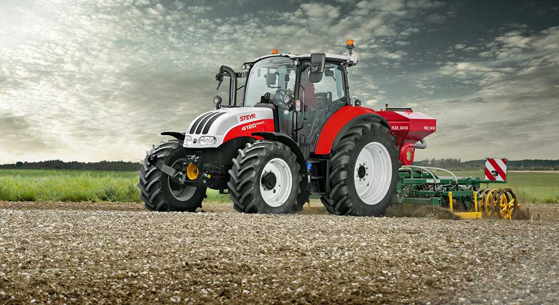 STEYR Enhances Utility Tractor Offering With New Multi And Kompakt Ranges