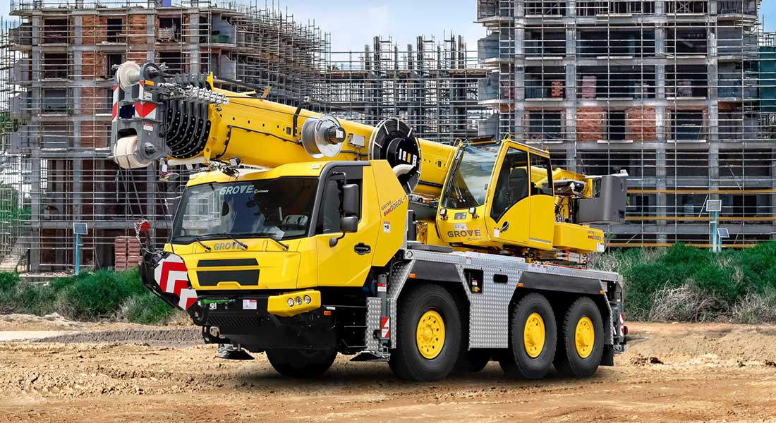 Manitowoc To Showcase Latest Grove Mobile Cranes At GIS