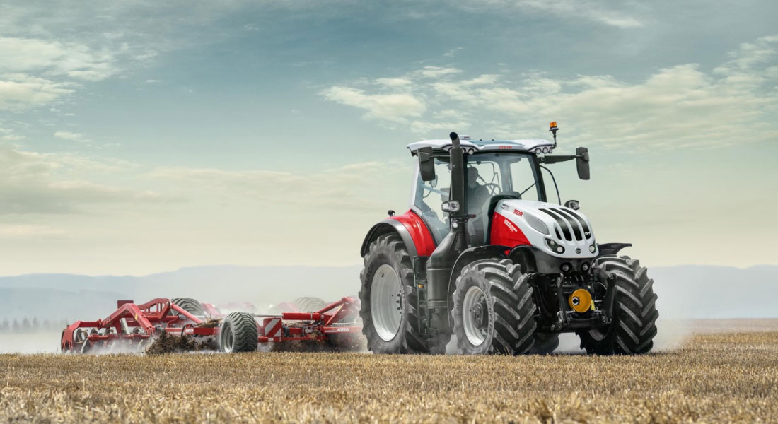New Cab, Controls And Connectivity For Second-Generation STEYR Terrus CVT