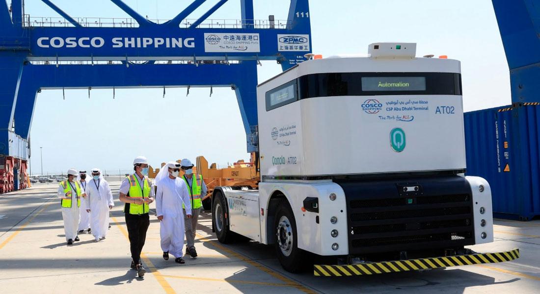 Middle East's First Autonomous Port Truck System