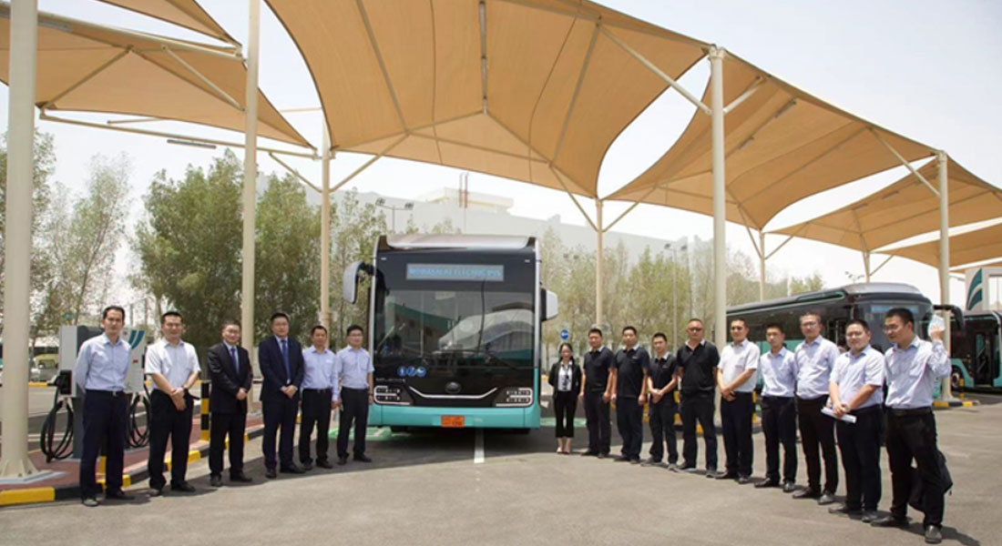 First Fleet Of EV Bus Delivered, Yutong Plugging Into The Future Of Qatar Green Transportation