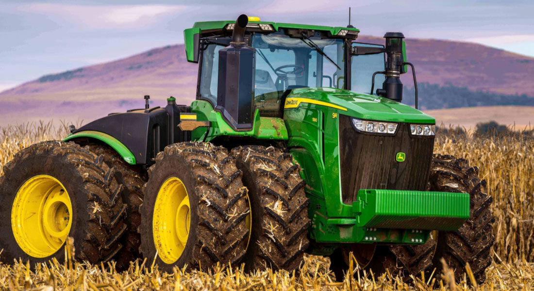 The All-New 9R-Series Tractor