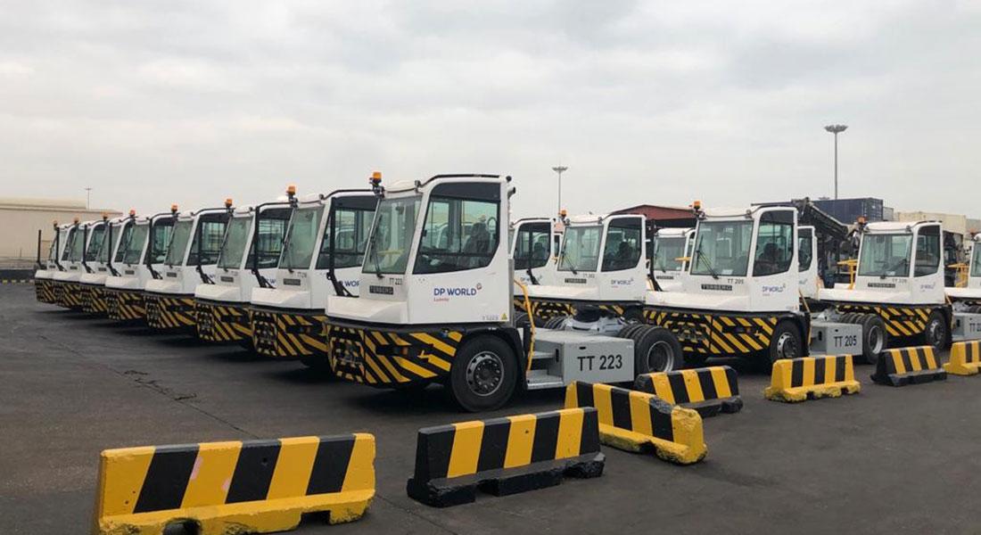 DP World Luanda Acquires Fleet Of New Tractors For Multipurpose Terminal At Port Of Luanda