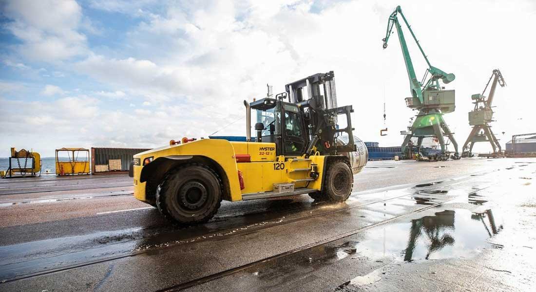 Hyster Telematics Keeps Lift Truck Dr...