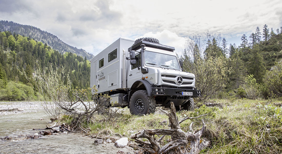 """Unimog Is The """"Off-Road Vehicle Of The Year"""" For The 17th Time"""
