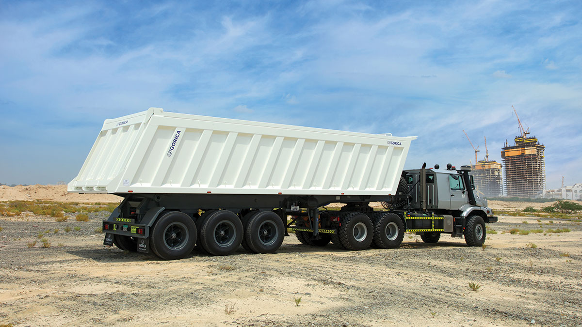 Tipper Trailers Play An Important Role In The Construction Industry For Delivery Of Aggregates