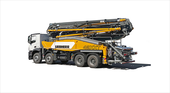 liebherr-to-introduce-the-42-m5-xxt-concrete-pump-and-powerbloc-hydraulic-drive-unit-to-us-market-at-world-of-concrete-2020-cover-image