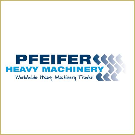 Large pfeifer heavy machinery